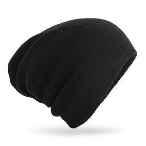 Just in - Black knitting wool beanie ski hat